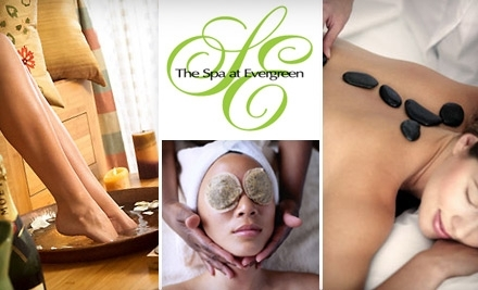 The Spa at Evergreen: 50-Minute Cinnamon and Spice Hot Stone Massage Plus Cup of Hot Cider - The Spa at Evergreen in Stone Mountain