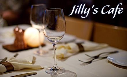 Jillys Cafe: $40 Groupon for Dinner - Jillys Cafe in Evanston