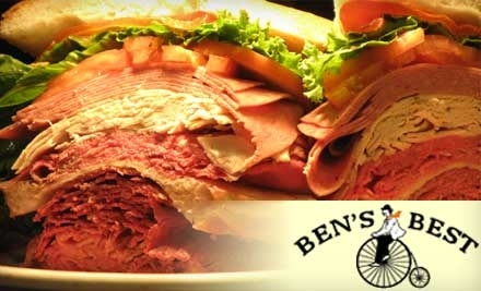 $20 Groupon to Ben's Best Kosher Delicatessen - Ben's Best Kosher Delicatessen in Rego Park
