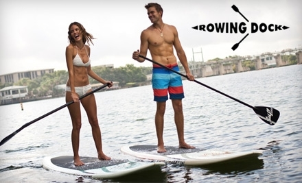 Rowing Dock: 3-Hour Stand-Up Paddle Board Rental - Rowing Dock in Austin
