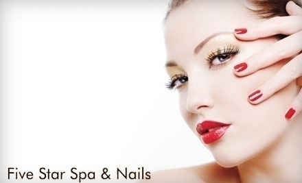 Five star spa and nails for 5 star nail salon