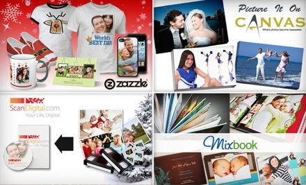 $50 Groupon to Zazzle - Mixbook in