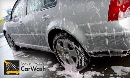 Golden Nozzle Car Wash Chicopee Ma