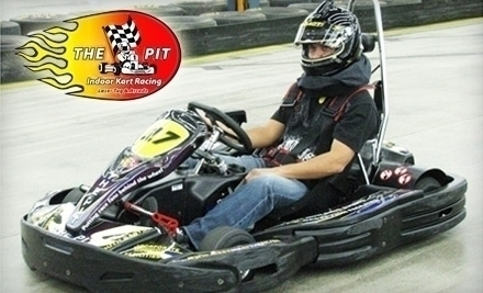 The Pit Indoor Kart Racing Mooresville Nc Groupon
