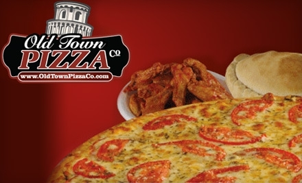 Old Town Pizza Co.: 2959 Artesian Rd. Suite 167 in Naperville - Old Town Pizza Co. in Naperville