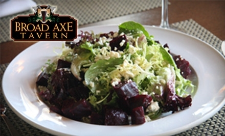 $30 Groupon to The Broad Axe Tavern - The Broad Axe Tavern in Ambler