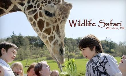 Wildlife Safari: 2 Child Admissions - Wildlife Safari in Winston