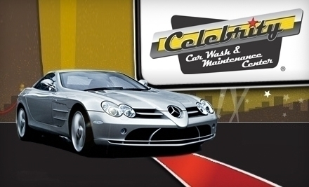 Celebrity Car Wash and Maintenance Center - Groupon