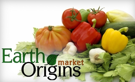 $30 Groupon to Earth Origins Market - Earth Origins Market in Gainesville
