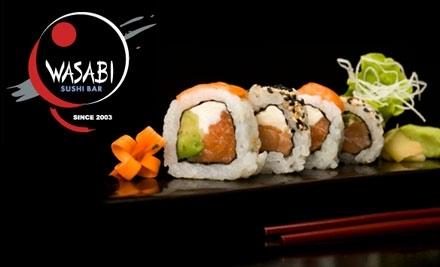 Wasabi Sushi Bar: $14 Groupon for Lunch - Wasabi Sushi Bar in Warson Woods