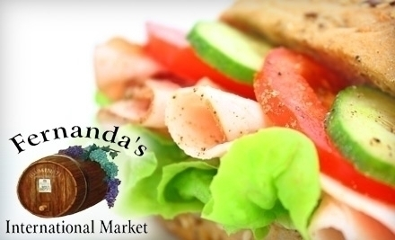 Fernanda S International Market Cafe Fort Lauderdale Fl