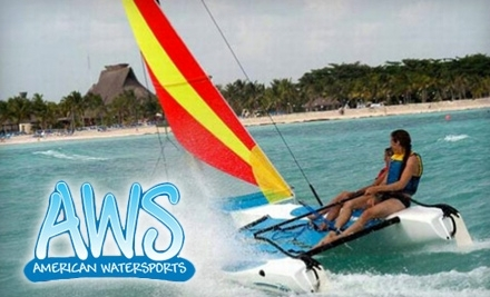 American WaterSports: Two-Hour Hobie Getaway Sailboat Rental - american-watersports-fort-lauderdale in Pompano Beach