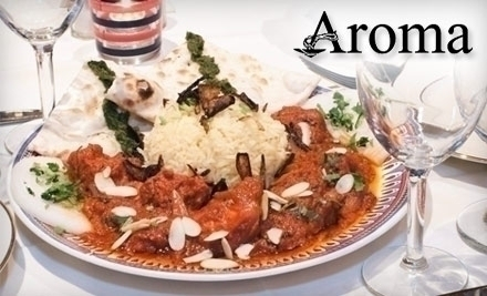 Zaika formerly tandoori nights arlington va groupon for Aroma japanese cuisine