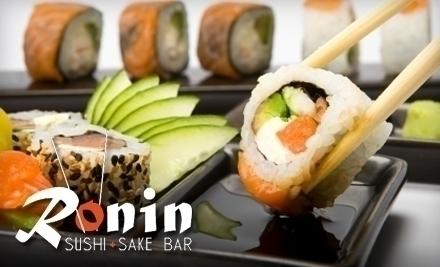 Ronin sushi and bar daytona beach fl groupon for At siam thai cuisine orlando
