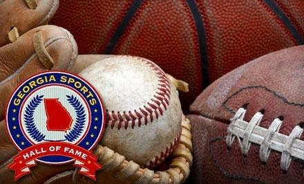 Georgia Sports Hall of Fame: 1-Year Individual Membership  - Georgia Sports Hall of Fame in Macon