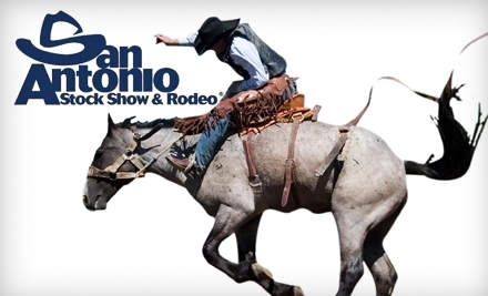 San Antonio Stock Show & Rodeo: 2 Grounds Admission Passes - San Antonio Stock Show & Rodeo in San Antonio