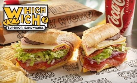 $12 Groupon to Which Wich - Which Wich in San Antonio