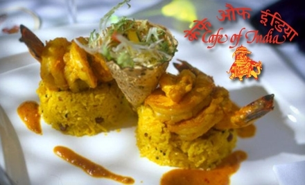 $30 Groupon to Cafe of India - Cafe of India in Cambridge