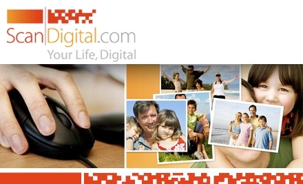 $100 Groupon to ScanDigital - ScanDigital in