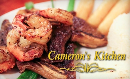 $12 Groupon to Cameron's Kitchen - Cameron's Kitchen in Fayetteville