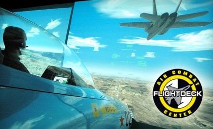 Flightdeck Air Combat Center - Flightdeck Air Combat Center in Anaheim