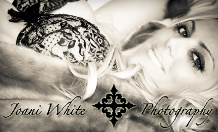 Joani White Photography: One-Hour Session, Five Edited Photographs on CD, and One 8