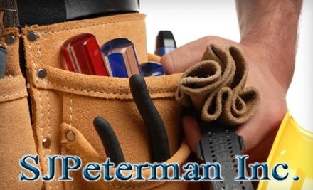 SJPeterman Inc. - SJPeterman Inc. in