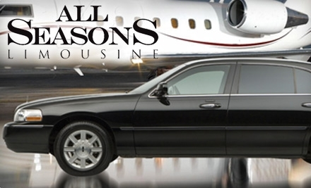 All Seasons Limousine: $75 Worth of Transportation Services - All Seasons Limousine in