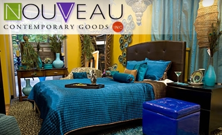 $200 Groupon to Nouveau Contemporary Goods - Nouveau Contemporary Goods in Baltimore
