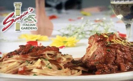 Sergio's Italian Gardens: $50 Groupon towards Dinner Menu - Sergio's Italian Gardens in Las Vegas