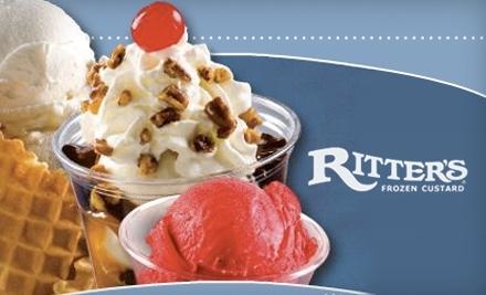 $6 Groupon to Ritter's Frozen Custard - Ritter's Frozen Custard in Port Orange