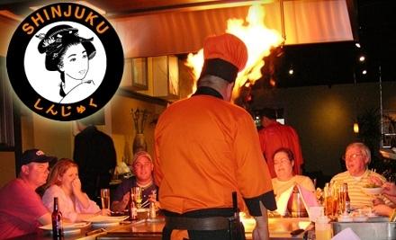 $30 Groupon to Shinjuku Japanese Steak & Seafood House - Shinjuku Japanese Steak & Seafood House in Aurora
