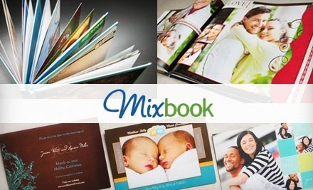 $50 Groupon to Mixbook - Mixbook in