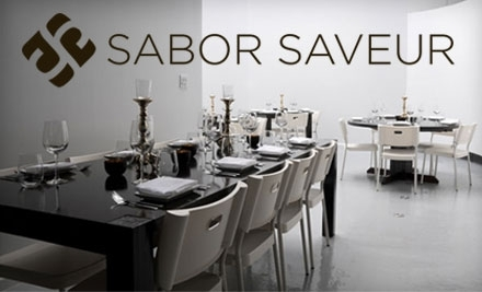 $30 Groupon to Sabor Saveur - Sabor Saveur in Chicago