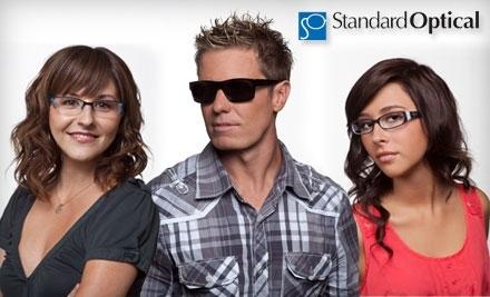 $180 Groupon to Standard Optical - Standard Optical in Bountiful