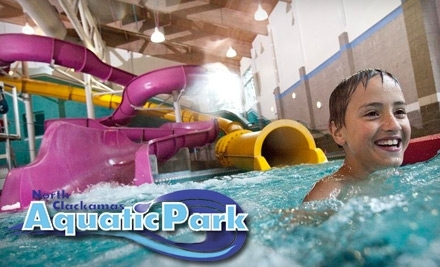 North Clackamas Aquatic Park: 1 Admission to Big Surf!, One Rock Climb on Steel Mountain, and a Locker - North Clackamas Aquatic Park in Milwaukie