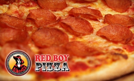 $30 Groupon to Red Boy Pizza - Red Boy Pizza in Novato