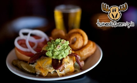 $20 Groupon to Teakwoods Tavern & Grill - Teakwoods Tavern & Grill in Phoenix