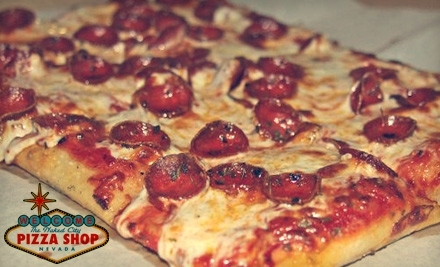 $20 Groupon to Naked City Pizza Shop - Naked City Pizza Shop in Las Vegas