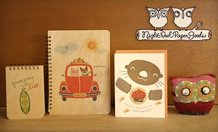 $20 Groupon to Night Owl Paper Goods - Night Owl Paper Goods in
