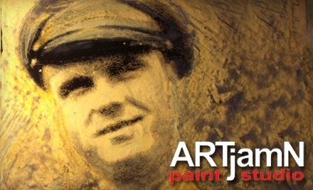 ARTjamN: 1 Guided or Freestyle Art-Entertainment Night Including a 16