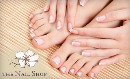 $50 Groupon to The Nail Shop - The Nail Shop in Oakland