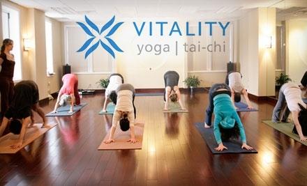 Vitality Yoga: Good for 10 Sessions - Vitality Yoga in Bayside