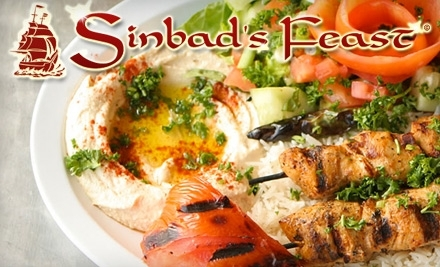 Sinbad's Feast: $20 Groupon for Lunch - Sinbad's Feast in Johns Creek