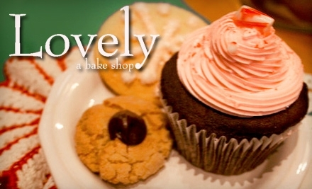 $15 Groupon to Lovely Bake Shop - Lovely Bake Shop in Chicago