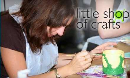 $30 Groupon to Little Shop of Crafts - Little Shop of Crafts in New York