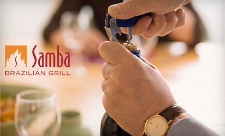 Samba Brazilian Grill: Wine-Tasting Featuring Wines from Australia on April 12 at 6:30PM - Samba Brazilian Grill in Madison