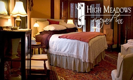 High Meadows Vineyard Inn - High Meadows Vineyard Inn in Scottsville