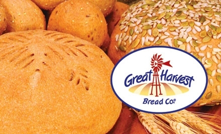$10 Groupon to Great Harvest Bread Co. - Great Harvest Bread Co. in Billings