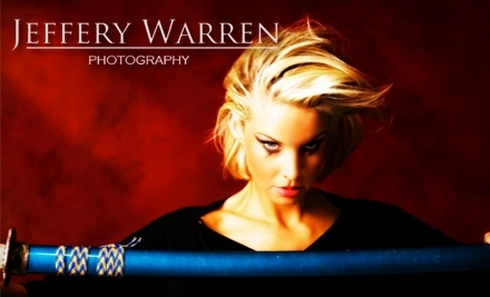 Jeffery Warren Photography: 30-Minute Portrait Session, 30-Image Disc, and 2 Retouched 8